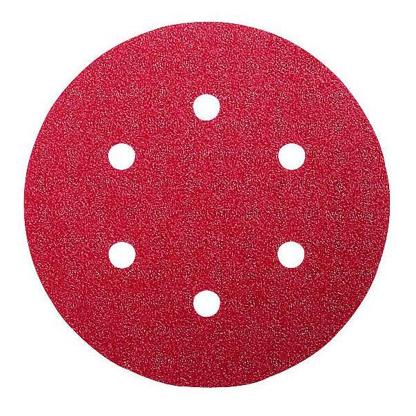 Набор шлифлистов по дереву/краске Bosch 125мм 60/120/240 зерно 6шт 2609256A28