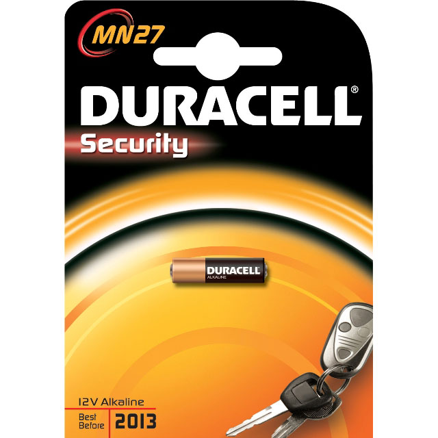 Батарейки Duracell MN27 B1 Security 12V Alkaline