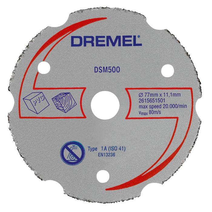 Отрезной диск Dremel DSM500 2615S500JA