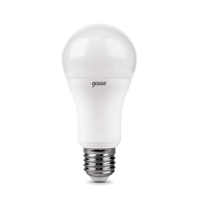 Светодиодная лампа Gauss Elementary A60 E27 20W 220V желтый свет