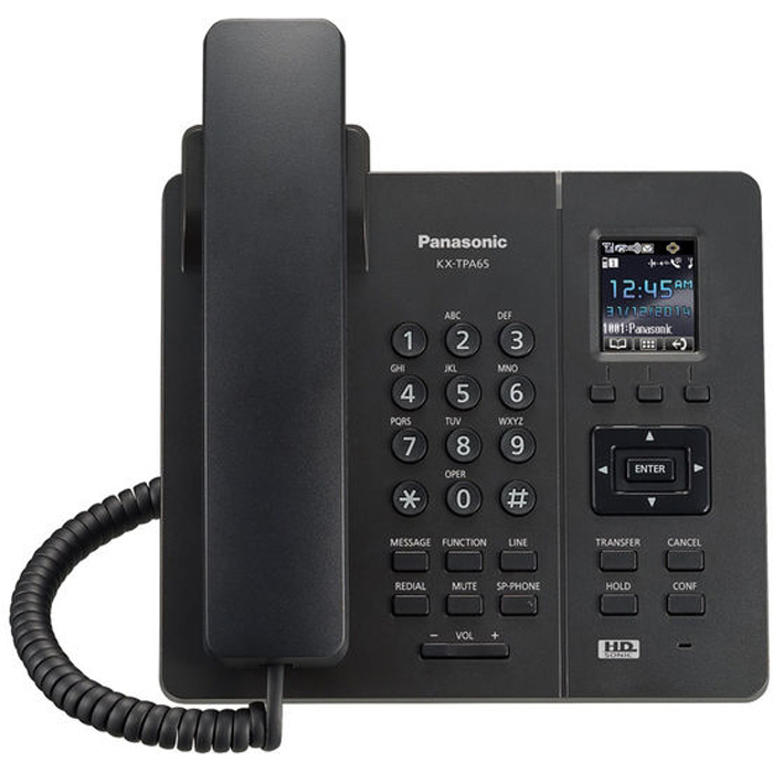 Телефон VoIP Panasonic KX-TPA65RUB