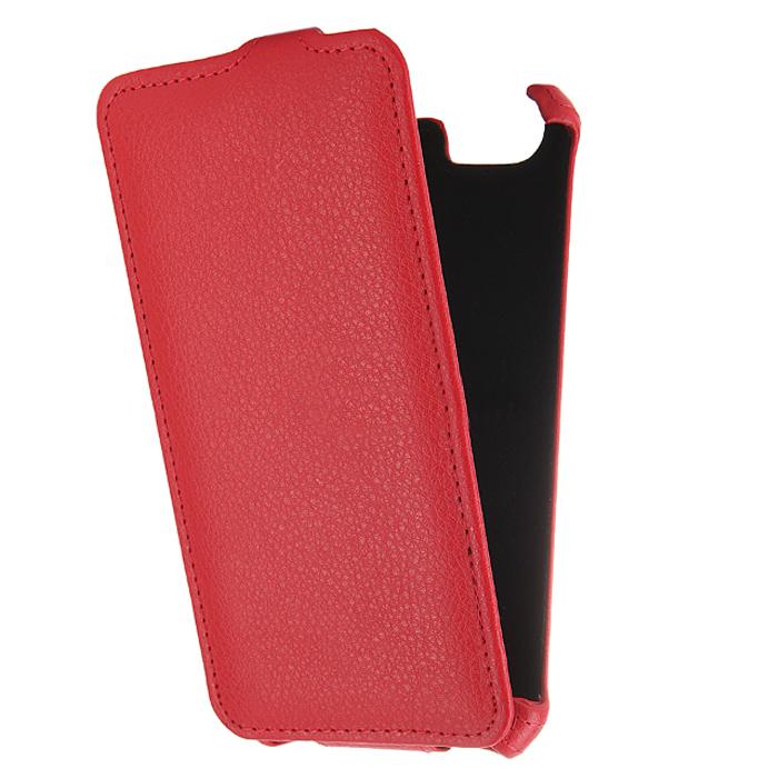 Чехол Gecko Flip для Philips Xenium V526, красный