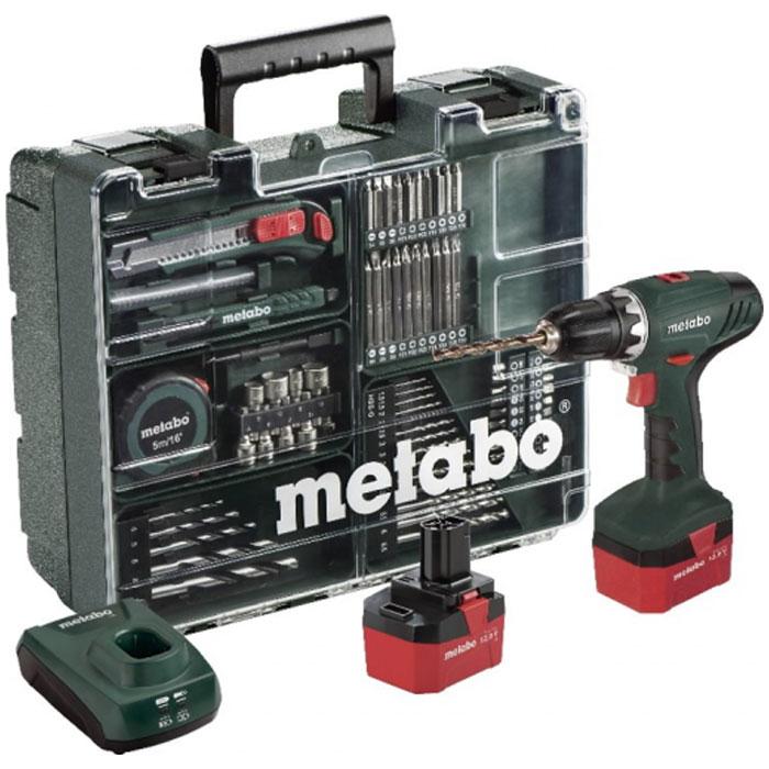 Аккумуляторная дрель-шуруповерт Metabo BS 12 NiCd 1.7Ah x2 Set 602194880