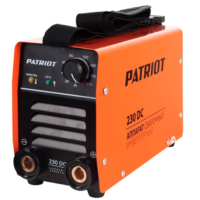 Инвертор сварочный PATRIOT 230 DC