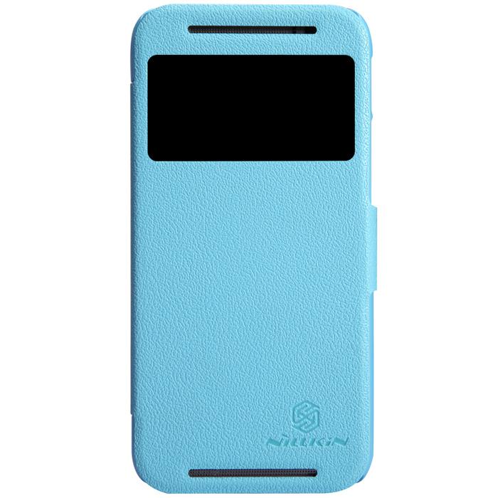 Чехол Nillkin Fresh Series для HTC One M8 синий