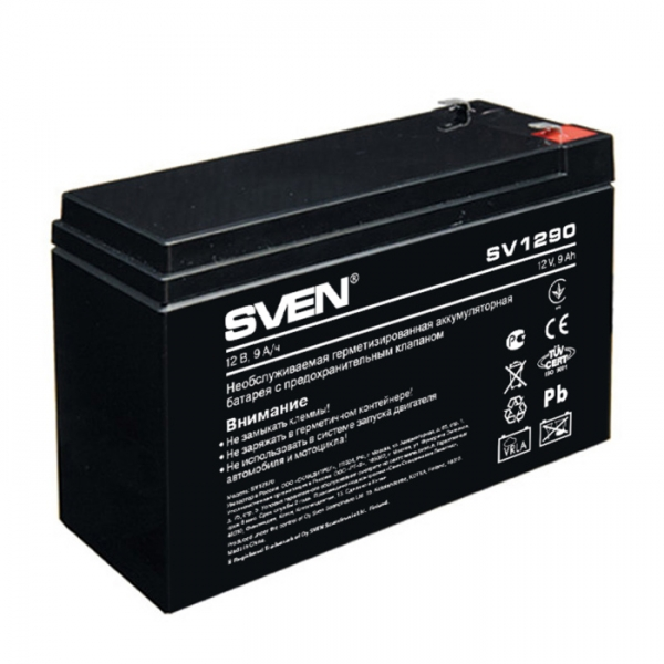 Батарея SVEN SV 1290 (12V 9Ah)
