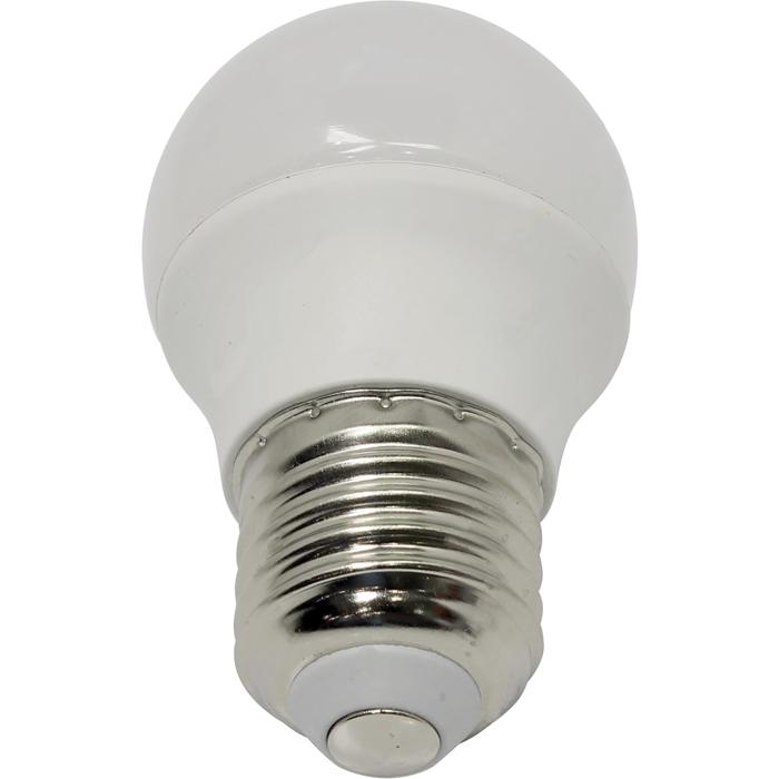 Светодиодная лампа ЭРА P45 E27 7W 220V желтый свет