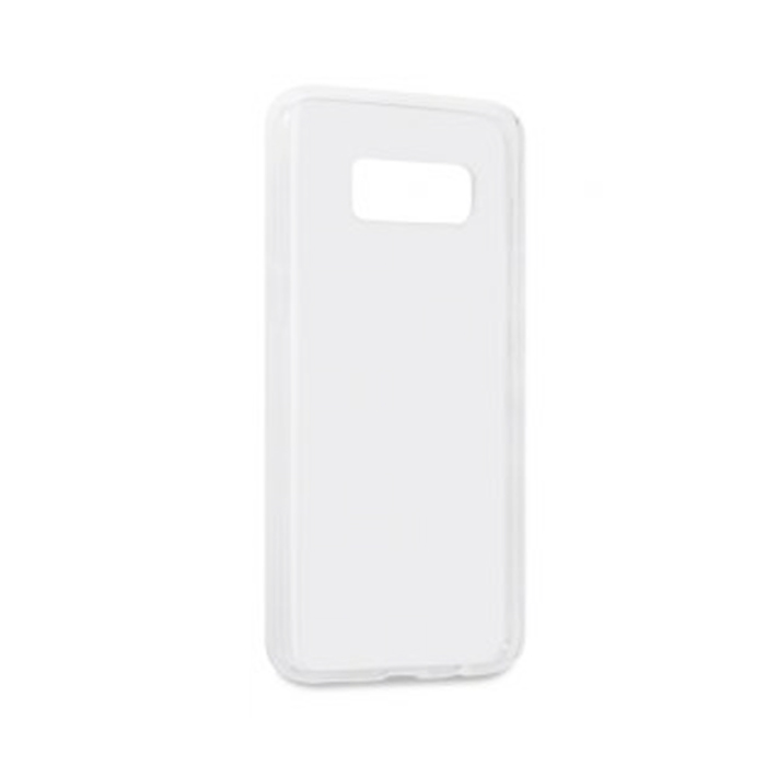 Чехол Gecko silicone case для Samsung Galaxy S8 (2017) SM-G950, белый, прозрачно-глянцевый