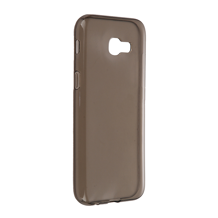 Чехол Gecko Силиконовая накладка для Samsung Galaxy A5 (2017) SM-A520F, прозрачно-глянцевая, серая