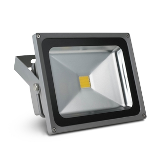 Светодиодный прожектор X-flash Floodlight PIR IP65 50W 220V 44245 белый свет, датчик движения и освещенности