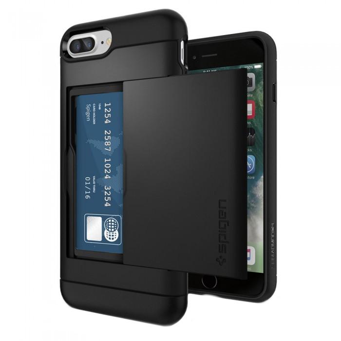 Чехол SGP Slim Armor CS 043CS20528 для iPhone 7 Plus, Черный
