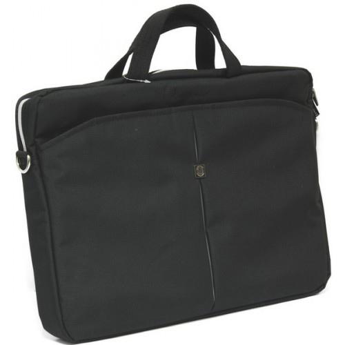 Сумка для ноутбука 15.6″ Continent CC-01, нейлоновая, черная