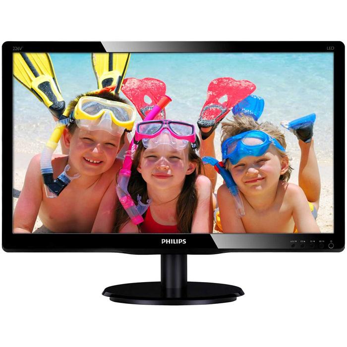 Монитор ЖК Philips 226V4LSB 21.5″ black VGA DVI