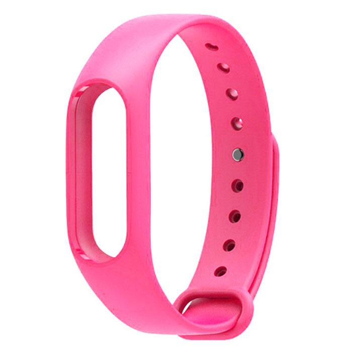 Ремешок для фитнес-браслета Xiaomi Mi Band 2, розовый