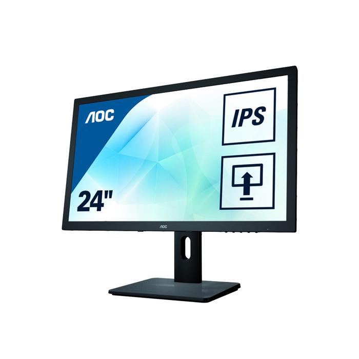 Монитор ЖК AOC I2475PXQU 23.8″ black VGA DVI HDMI DisplayPort
