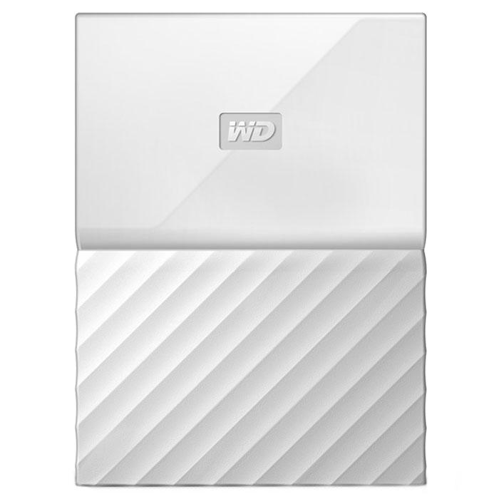 Внешний жесткий диск USB3.0 2.5″ 1.0Тб WD My Passport ( WDBBEX0010BWT-EEUE ) Белый