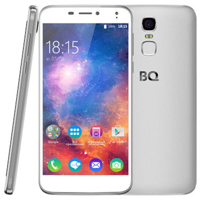 Смартфон BQ Mobile BQS-5520 Mercury Silver