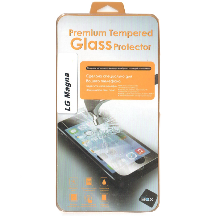 Защитное стекло SkinBox для LG Magna H502