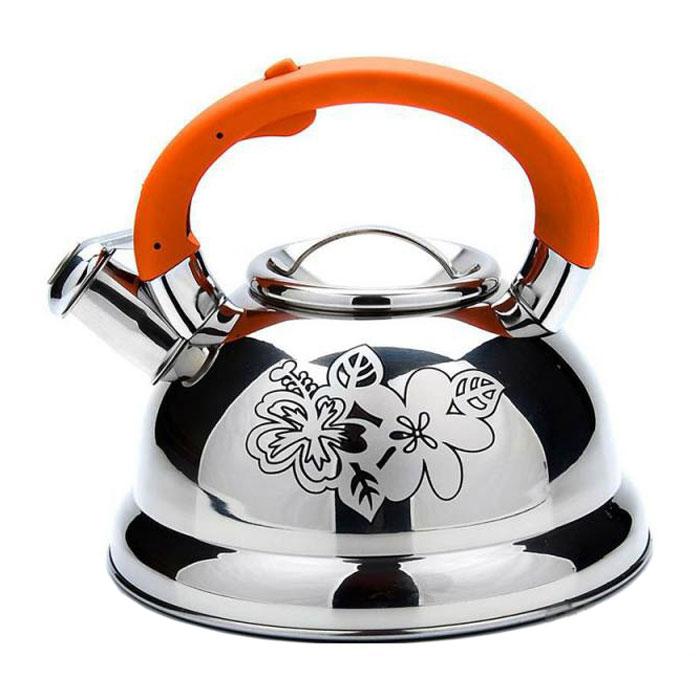Чайник MAYER&BOCH 22789 silver/orange