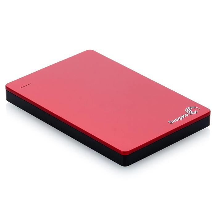 Внешний жесткий диск USB3.0 2.5″ 1.0Тб Seagate Backup Plus Slim ( STDR1000203 ) Красный