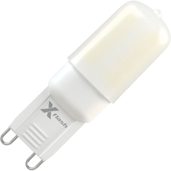 Светодиодная LED лампа X-flash Finger G9 3W 220V белый свет, силикон