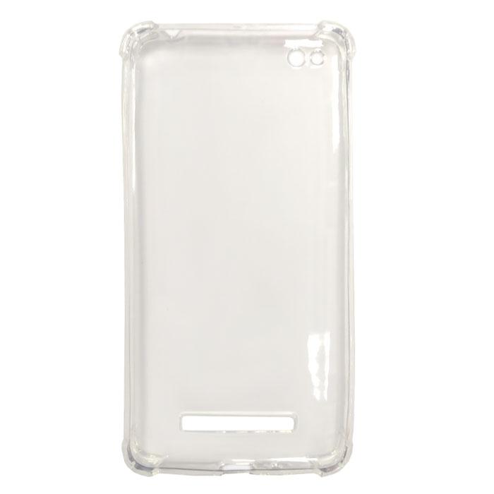 Чехол Gecko, Силиконовая светящаяся накладка для Xiaomi Redmi 4A, белая