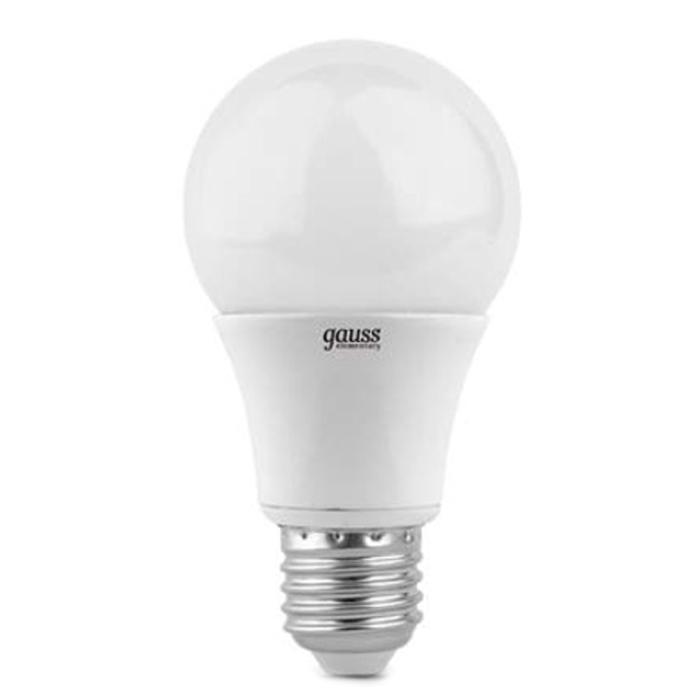 Светодиодная лампа Gauss Elementary A60 E27 10W 220V белый свет