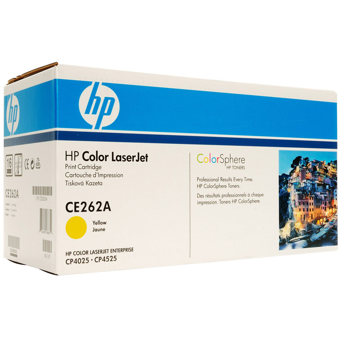 Картридж HP CE262A Yellow