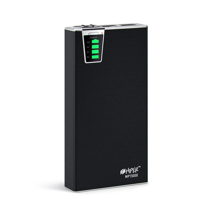 Внешний аккумулятор универсальный HIPER MP15000 15000mAh черный