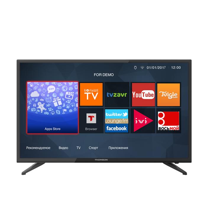 Телевизор ЖК 49″ Thomson T49D18SFS-01B черный