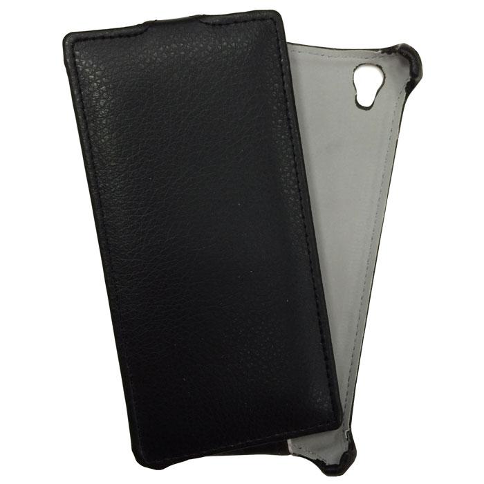Чехол Gecko Flip для Philips Xenium V787, черный