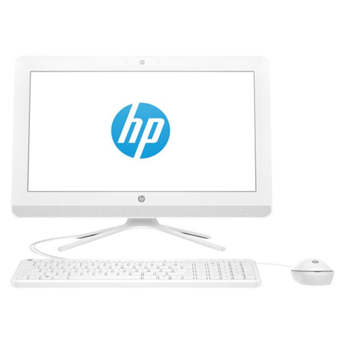 Моноблок HP 22-b013ur 21.5″ J3060/4Gb/500Gb/21.5″ FullHD/DVD/Kb+m/DOS white ( X0Z36EA )