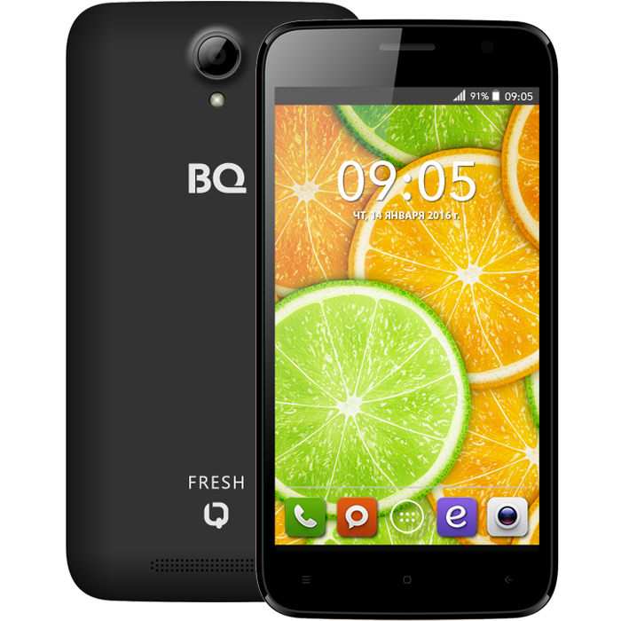Смартфон BQ Mobile BQS-5030 Fresh Black