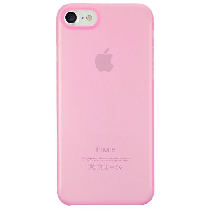 Чехол Ozaki O!coat 0.3 Jelly для iPhone 7, розовый