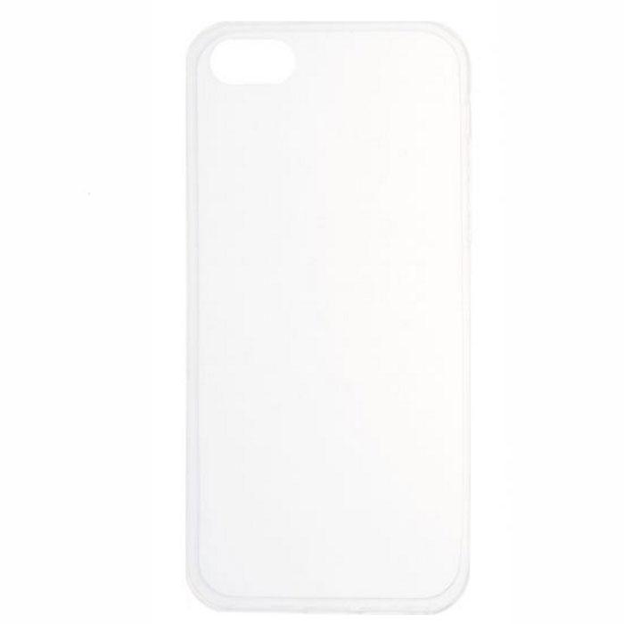 Чехол skinBOX slim silicone case для iPhone 5 / iPhone 5S / iPhone SE прозрачный