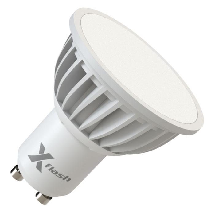 Светодиодная LED лампа X-flash MR16 GU10 5W 220V 45037 белый свет, матовый