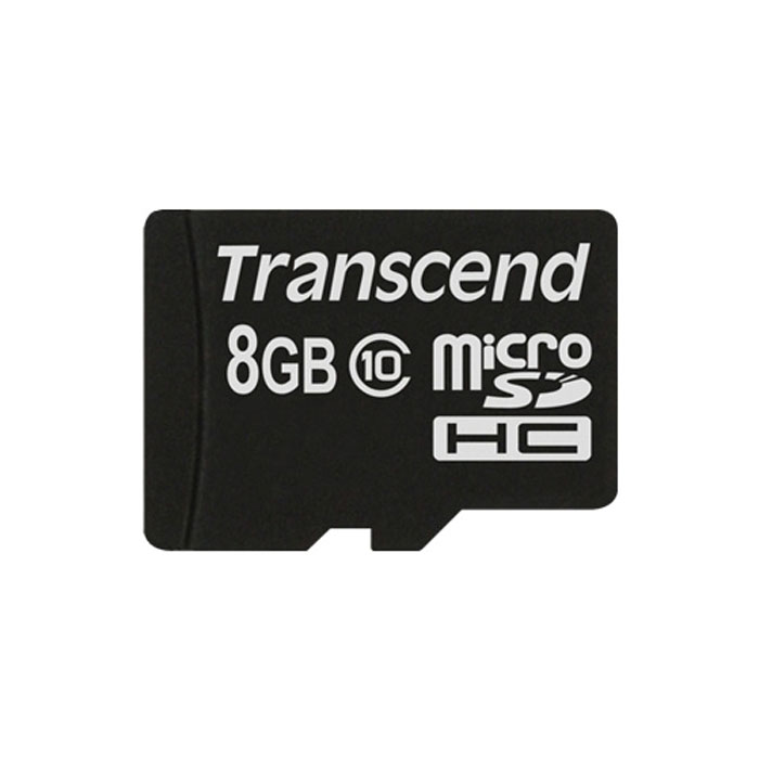 Флеш-карта microSDHC 8Гб Transcend , Class 10 ( TS8GUSDC10 )