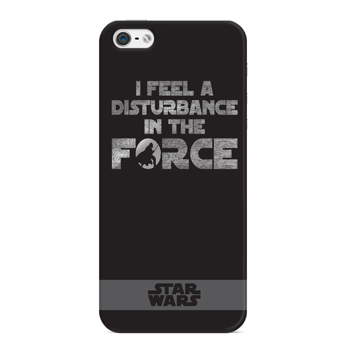 Чехол для iPhone 5 / iPhone 5S / iPhone SE Deppa Art Case, Star Wars, Сила