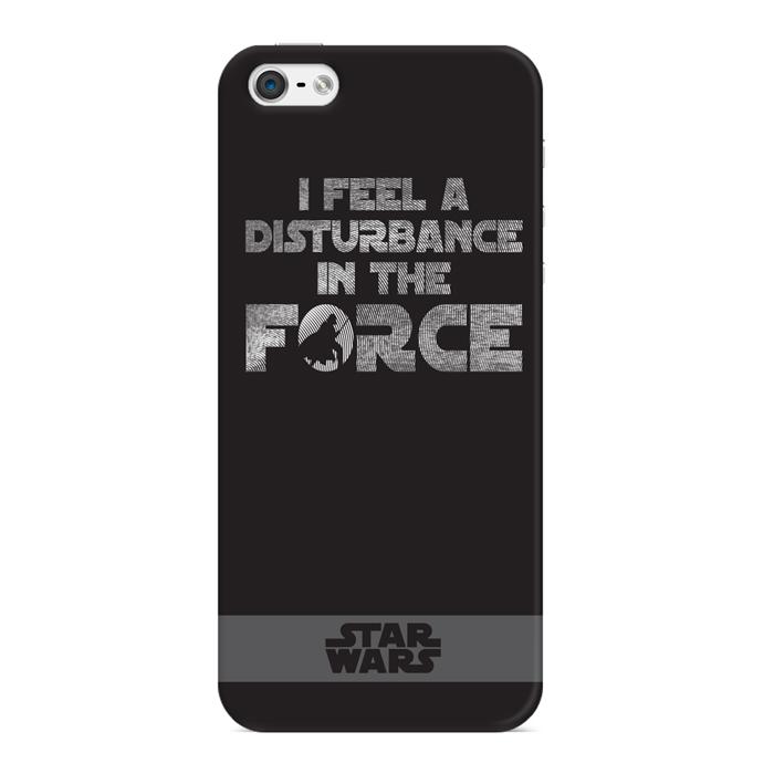 Чехол для iPhone 5 / iPhone 5S / iPhone SE Deppa Art Case, Star Wars, Сила