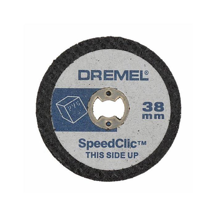 Набор отрезных кругов по пластмассе Dremel SC476 2615S476JB
