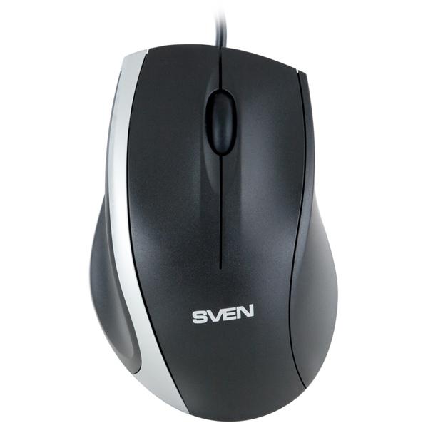 Мышь SVEN RX-180 Black оптическая, проводная