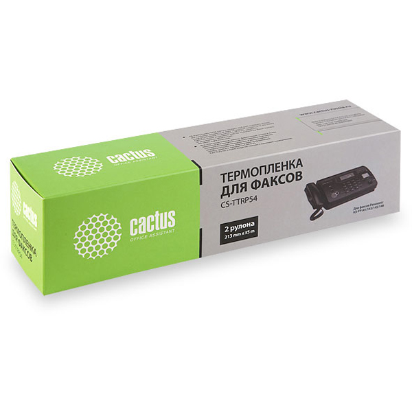 Термопленки CACTUS для факсов Panasonic KXF-A54 ( CS-TTRP54 )