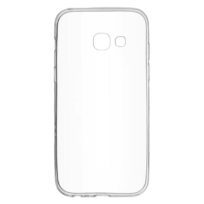 Чехол skinBOX slim silicone case для Samsung Galaxy A3 (2017) SM-A320F, прозрачный