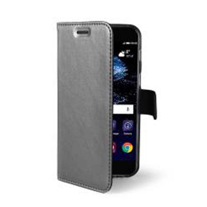 Чехол Celly Air Case для Huawei P10 Lite серебристый
