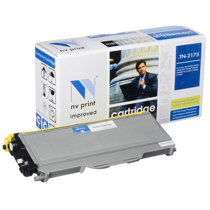 Картридж NV-Print NVP-TN-2175 для Brother HL2140/2150/2170/DCP7030/7045/MFC7320 (2600 стр.)