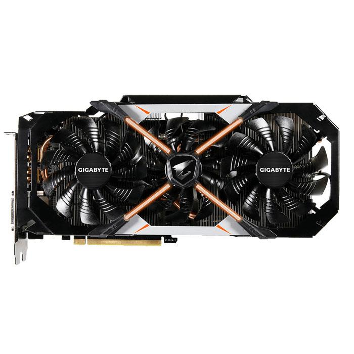 Видеокарта PCI-E GIGABYTE GeForce GTX 1070 8192Mb, AORUS, DDR5 ( GV-N1070AORUS-8GD ) Ret