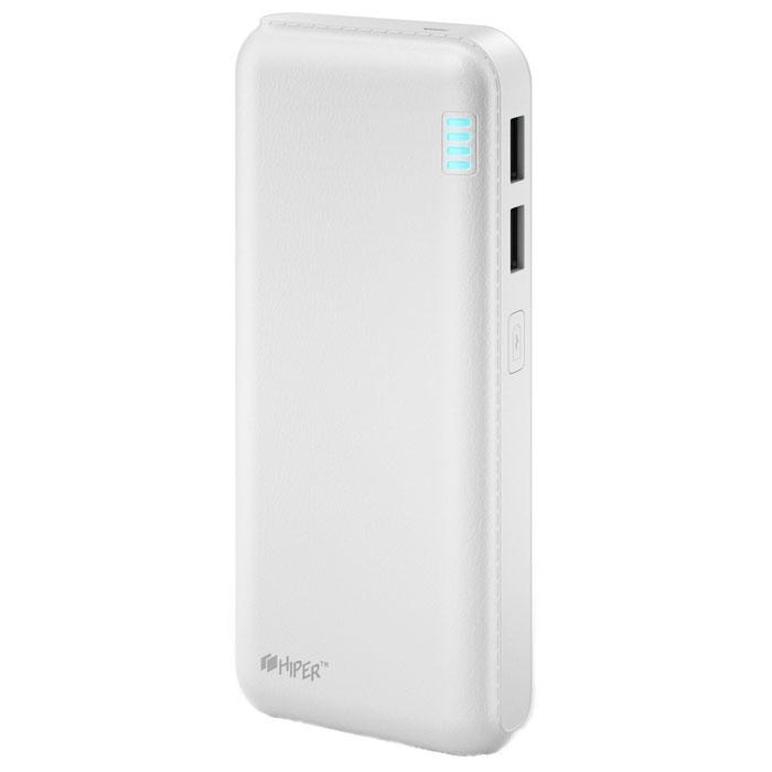 Внешний аккумулятор универсальный HIPER SP12500 12500mAh белый