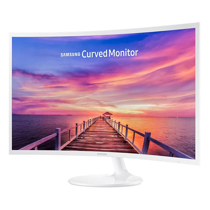Монитор ЖК Samsung C32F391FWI 31,5″ White HDMI DisplayPort