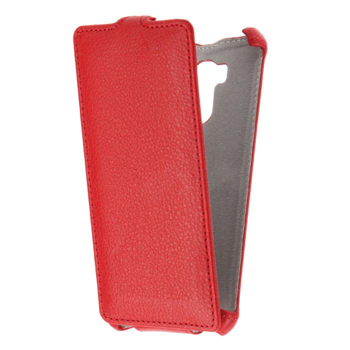 Чехол Gecko Flip case для Xiaomi Redmi 4 / 4 Pro, красный