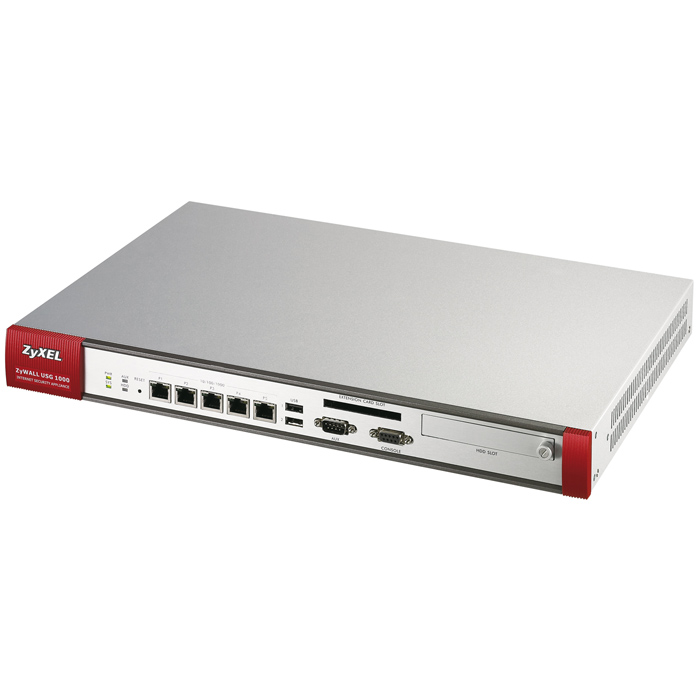 Маршрутизатор ZyXel ZyWALL USG 1000 2xLAN, 5xGbWAN/LAN